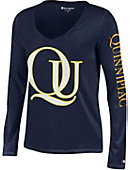 Quinnipiac University Women's Long Sleeve V-Neck T-Shirt