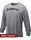 Nike Quinnipiac University Dri-Fit Long Sleeve T-Shirt
