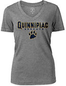 Quinnipiac University Women's V-Neck T-Shirt