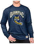 Quinnipiac University Bobcats Long Sleeve Mock Twist T-Shirt