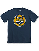 Quinnipiac University Bobcats Athletic Fit T-Shirt