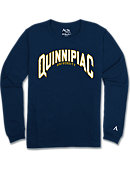 Quinnipiac University Bobcats Long Sleeve Athletic Fit T-Shirt
