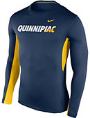 Nike Quinnipiac University Bobcats Vapor Long Sleeve T-Shirt