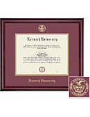 Norwich University 11'' x 14'' Classic Diploma Frame