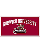 Norwich University Cadets 18'' x 36'' Banner