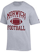 Champion Norwich University Football T-Shirt