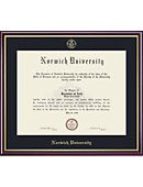 Norwich University 14'' x 17'' Value Price Academic Diploma Frame