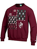 Bellarmine University Ugly Sweater Crewneck Sweatshirt