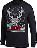 Bellarmine University Knights Ugly Sweater Long Sleeve T-Shirt