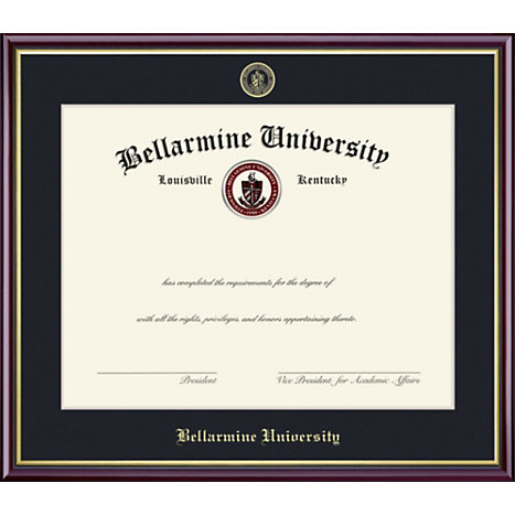 Product: Bellarmine University 11'' x 14'' Value Price Scholastic Diploma Frame
