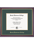 Sarah Lawrence College 8.5'' x 11'' Windsor Diploma Frame