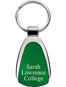 Sarah Lawrence College Teardrop Keychain