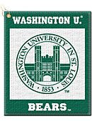 Washington University Bears Golf Towel