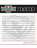 Washington University Bears Memo Pad 2 Pack