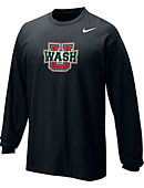 Nike Washington University Long Sleeve Classic T-Shirt