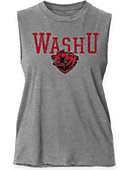 Washington University Women's Muscle Tank Top