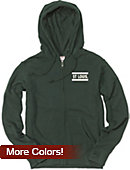 Washington University Bears Women's Full Zip Hooded Sweatshirt