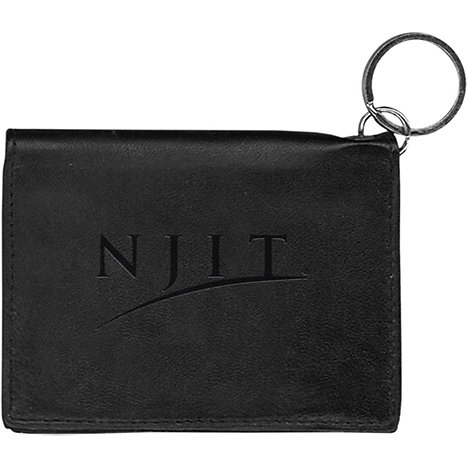 Product: New Jersey Institute of Technology Highlanders Leather ID Holder