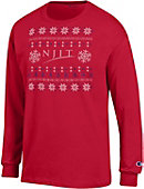 New Jersey Institute of Technology Ugly Sweater Long Sleeve T-Shirt