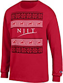 New Jersey Institute of Technology Ugly Christmas Sweater Long Sleeve T-Shirt