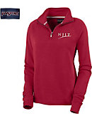 New Jersey Institute of Technology Women's 1/4 Zip Chelsea Fleece Pullover