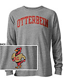 Otterbein College Cardinals Long Sleeve Victory Falls T-Shirt
