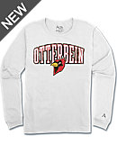 Alta Gracia Otterbein College Cardinals Long Sleeve Athletic Fit T-Shirt