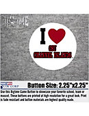 California State University - Channel Islands I Heart' 2.25' Button