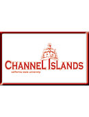 California State University - Channel Islands 2.2''x3.6'' Dome Magnet