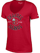 California State University - Channel Islands Dolphins Women's V-Neck T-Shirt