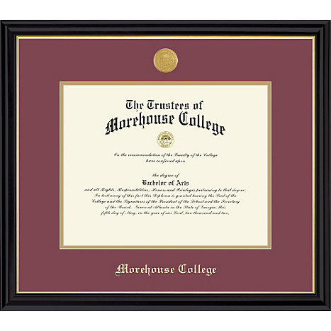 framing success morehouse college diploma frame
