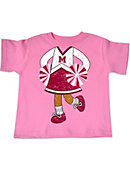 Morehouse College Toddler Cheerleader T-Shirt