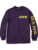 Morehouse College Omega Psi Phi Long Sleeve T-Shirt