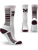 Morehouse College Maroon Tigers Crew Socks