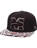 Morehouse College Animal Print Snap Cap