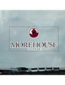 Morehouse College Cling Decal