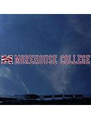 Morehouse College Maroon Tigers Strip Decal