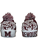 Morehouse College Pom Knit Beanie