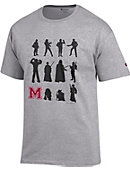 Morehouse College Maroon Tigers Star Wars T-Shirt