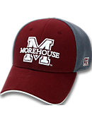 Morehouse College Stretch Fitted Micro Mesh Cap