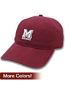 Morehouse College Adjustable Leather Strap Cap