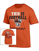 University of Texas of the Permian Basin Football Short Sleeve T-Shirt