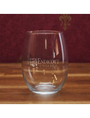Endicott College 21 Oz. Stemless Wine Glass