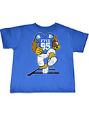 Fort Valley State University Football Player Toddler T-Shirt