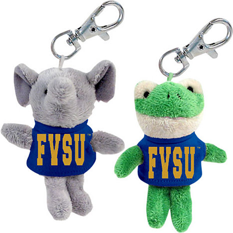 Product: Fort Valley State University Plush Keychain