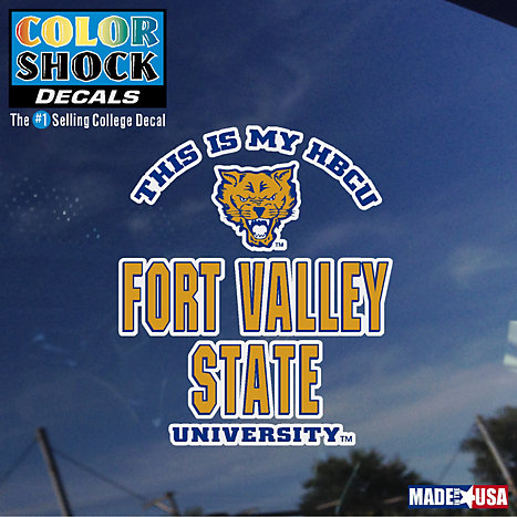 Product: Fort Valley State University Wildcats 'This Is My HBCU' Decal