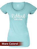 Richland College Women's Scoopneck T-Shirt
