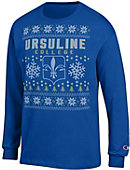 Ursuline College Ugly Sweater Long Sleeve T-Shirt