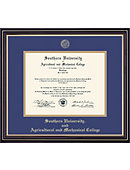 Southern University and A&M College 8.5'' x 11'' Prestige Diploma Frame