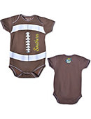 Southern University and A&M College Infant Football Bodysuit